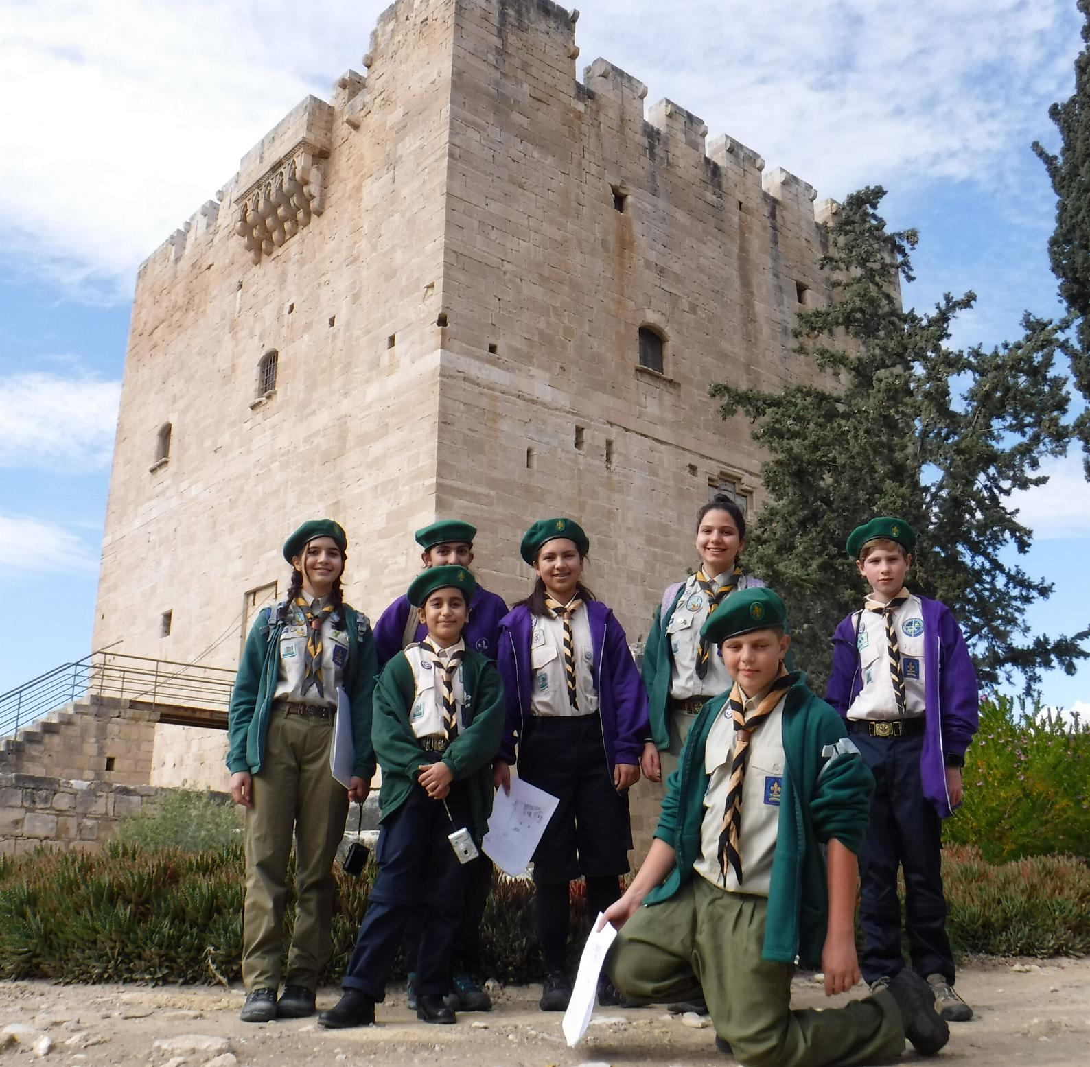 Ashington Group Meeting Hut: Scoutpage